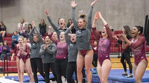Gymnastics Team Celebration - March 5