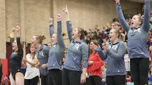 Gymnastics Team Celebration - February 10, 2018