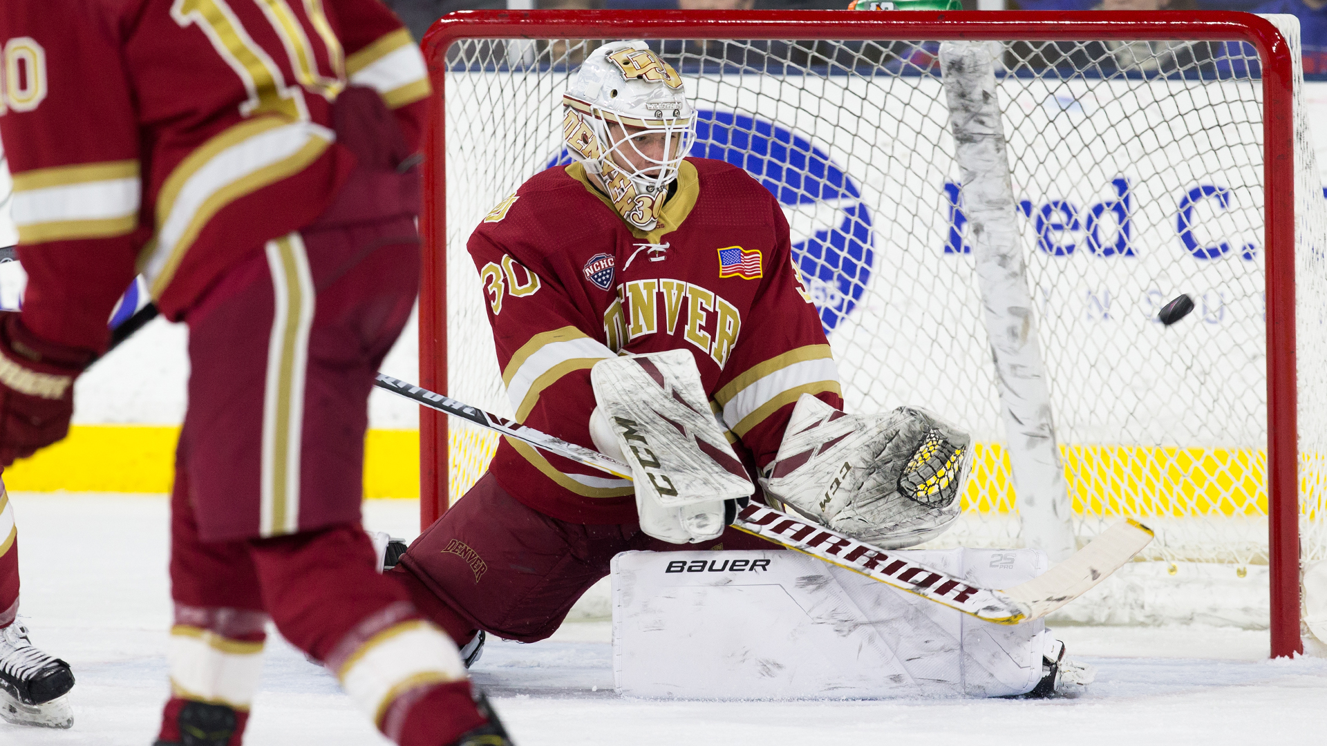 Filip Larsson Named NCHC Rookie of the Month