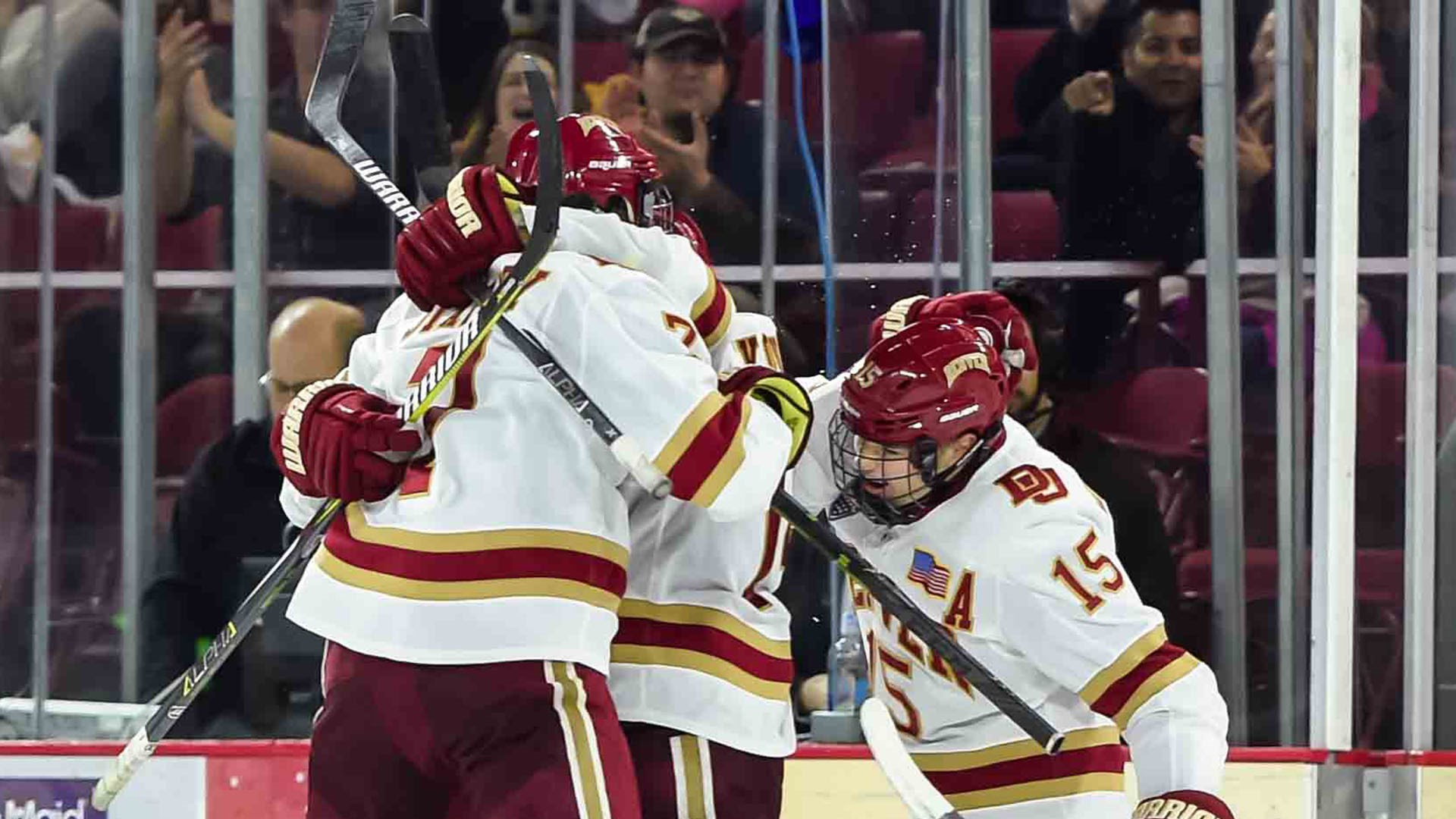 Pioneers Picked 2nd in NCHC Preseason Poll