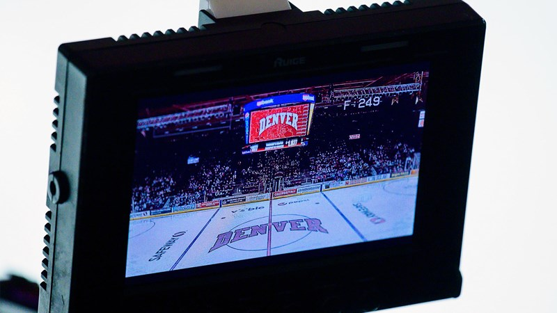 Altitude TV to Carry All 10 Denver Hockey Games in the NCHC Pod - University of Denver Athletics